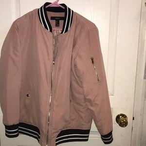 Pink Hello Bomber Jacket